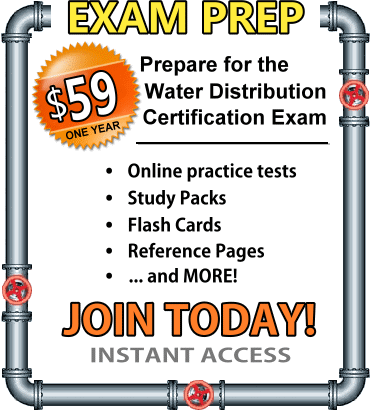 Water Distribution Exam membership